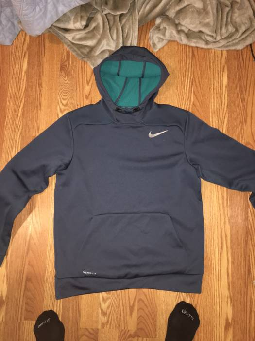 Nike Navy Therma-FIT Hoodie Size m - Sweatshirts   Hoodies for Sale ... 25b1a5d12