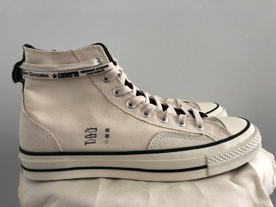 af8ee00e5802c3 Converse Converse x Midnight Studios HIgh Top Chuck Taylor OG Size US 9.5    EU 42