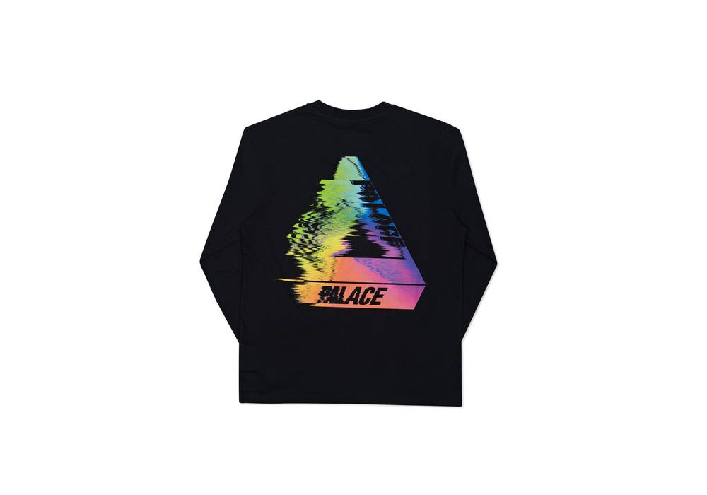 a7506170e988 Palace TRI-SMUDGE L S T-SHIRT (BLACK) Size l - Short Sleeve T-Shirts ...