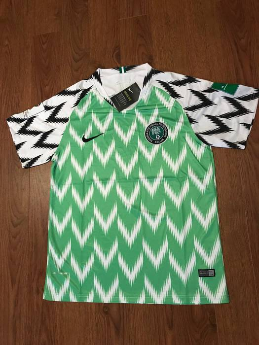 Nike Nigeria 2018 World Cup Home Kit Size m - Jerseys for Sale - Grailed dc3769093