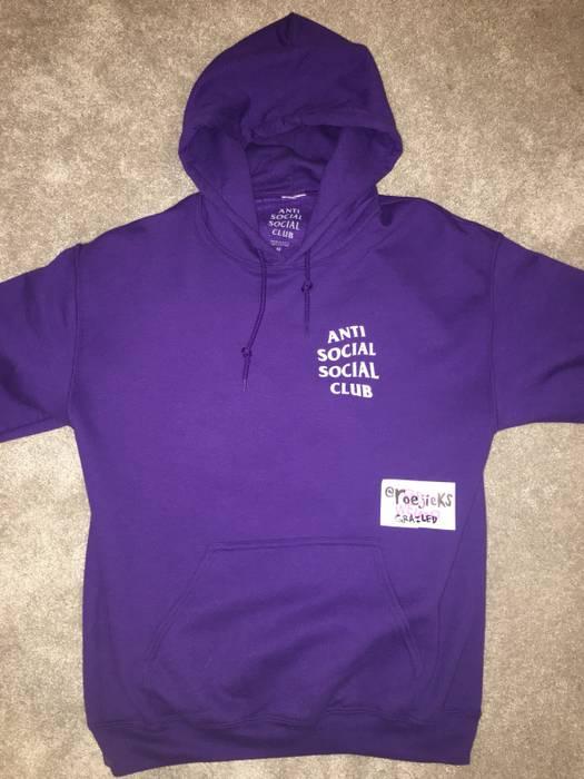 434bc52078d8 Antisocial Social Club Purple Rain Hoodie Size m - Sweatshirts ...