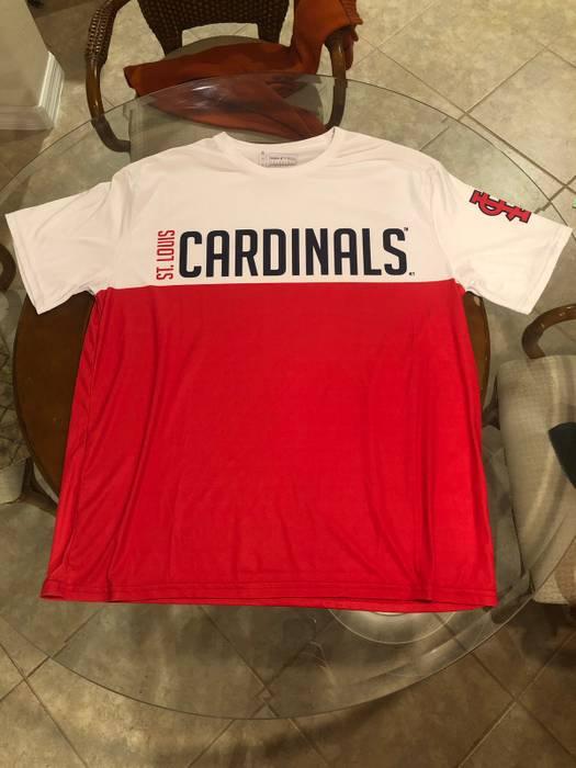 e4fc726a7 Vintage St Louis Cardinals Shirt Dri Fit Size xl - Short Sleeve T ...