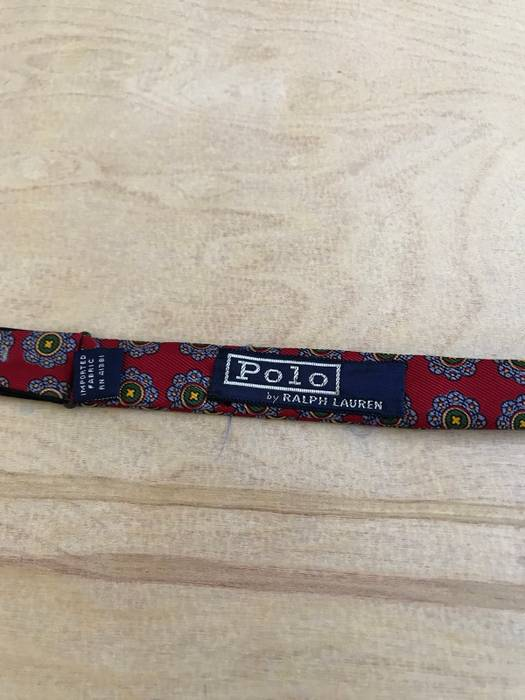 467dcc6e7c77 Polo Ralph Lauren Paisley Bat Wing Self Tie Bow tie Made In England Size  ONE SIZE