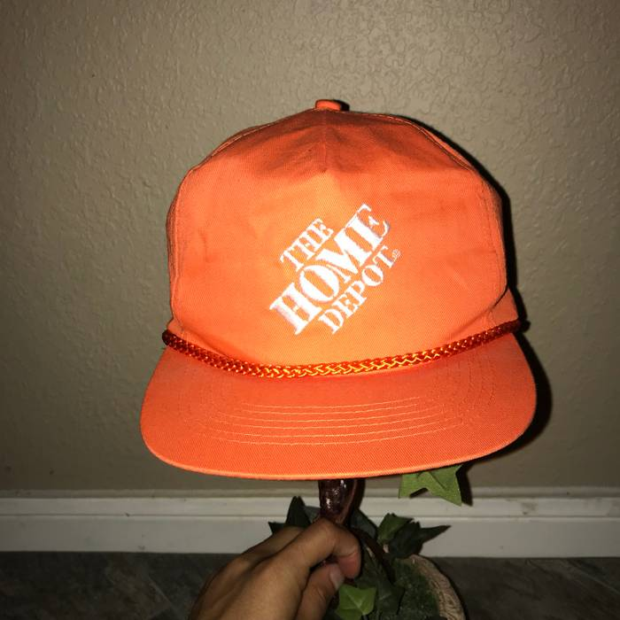 ac1d673fcb1 Vintage Vintage Home Depot SnapBack Size one size - Hats for Sale ...