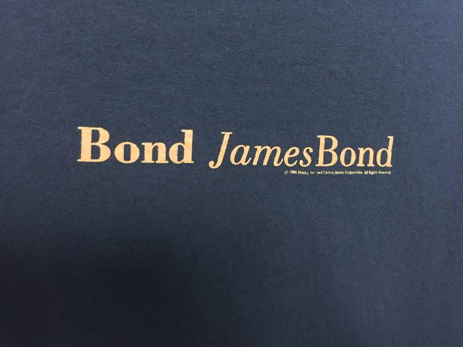 vintage james bond 007 vintage goldeneye t shirt size l short