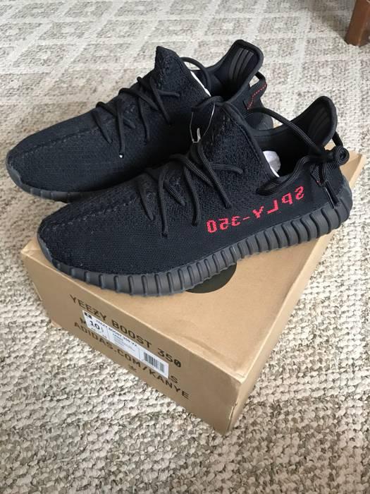 big sale 4ae21 a412d ... denmark adidas kanye west adidas yeezy boost 350 v2 bred size us 10.5  eu 43 392cd