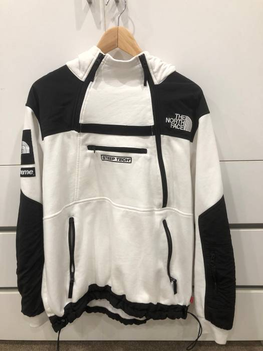 ... jacket d63fc 3693c  real supreme supreme the north face steep tech  hoodie white size us l eu 52 2e082 27fbadc73