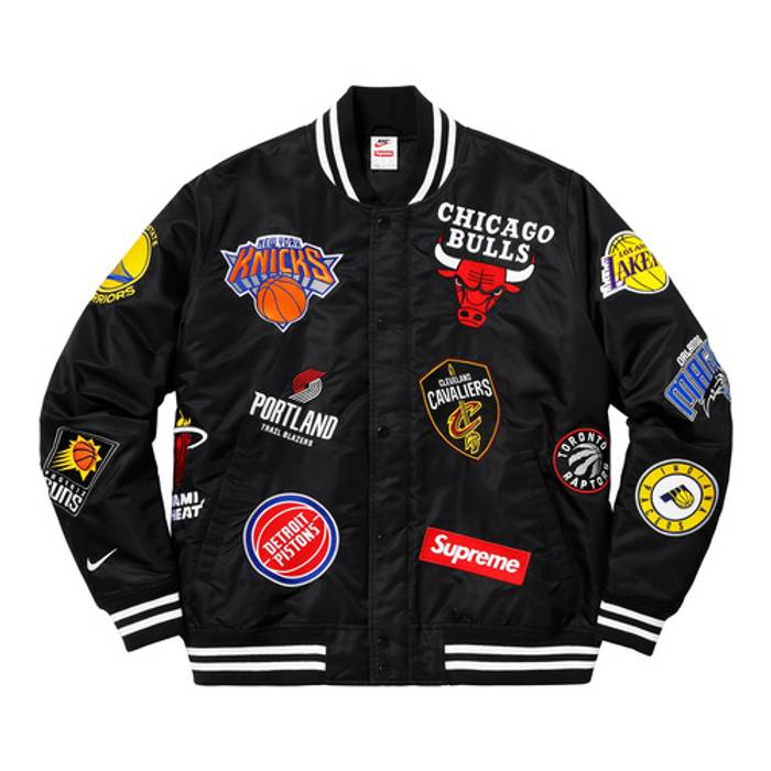 Supreme Supreme Nike NBA Warm-Up Jacket Black Size m - Light Jackets ... e2e77016a