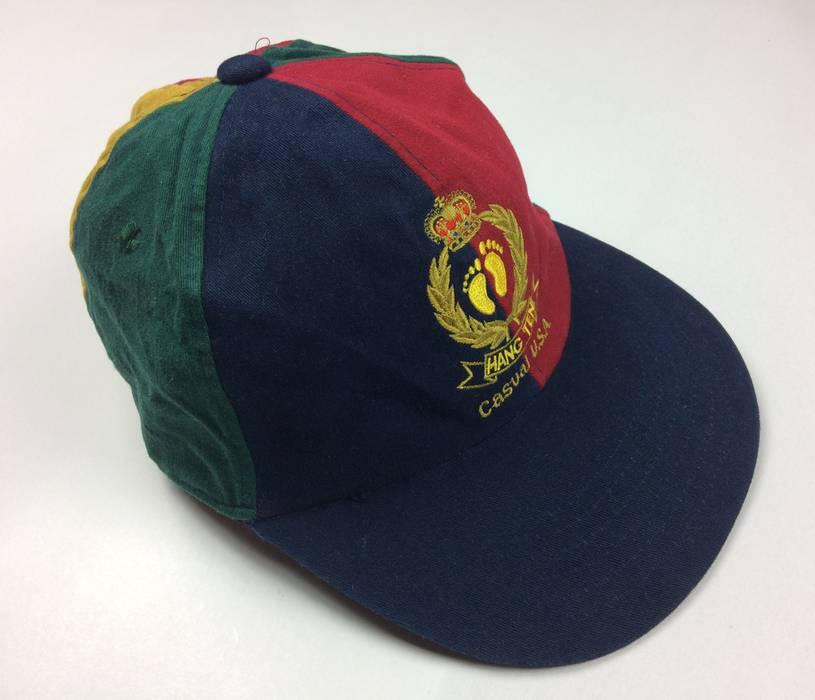 Hang Ten Vintage Hang Ten Casual Usa Multicolor Caps Hats Skate Hip Hop  Style 80s Streetwear ee4f1c9061b