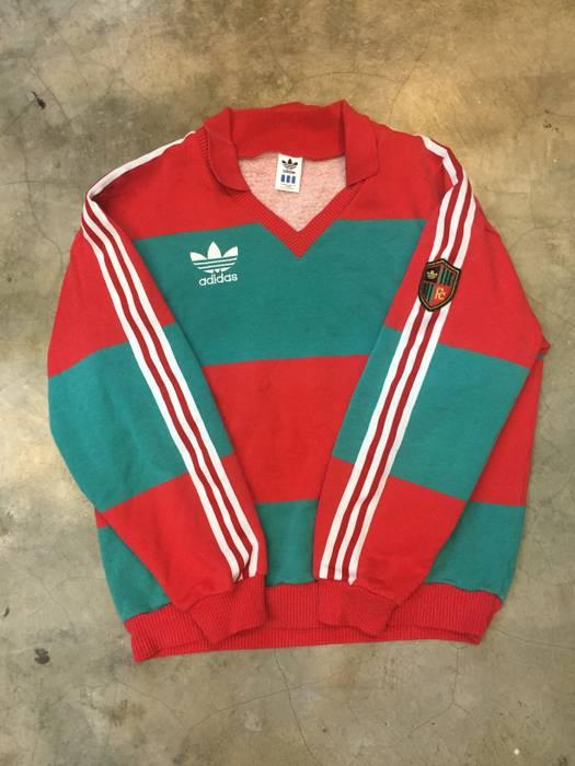 af8238d9e Adidas Rare Vintage 80 s Adidas stripes embroidry not Gosha ...