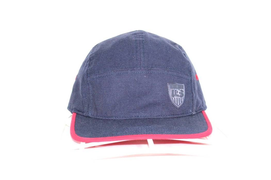 Nike NIKE Team USA Soccer Football Adjustable 5 Panel American Flag ... 3a630b9f4b4
