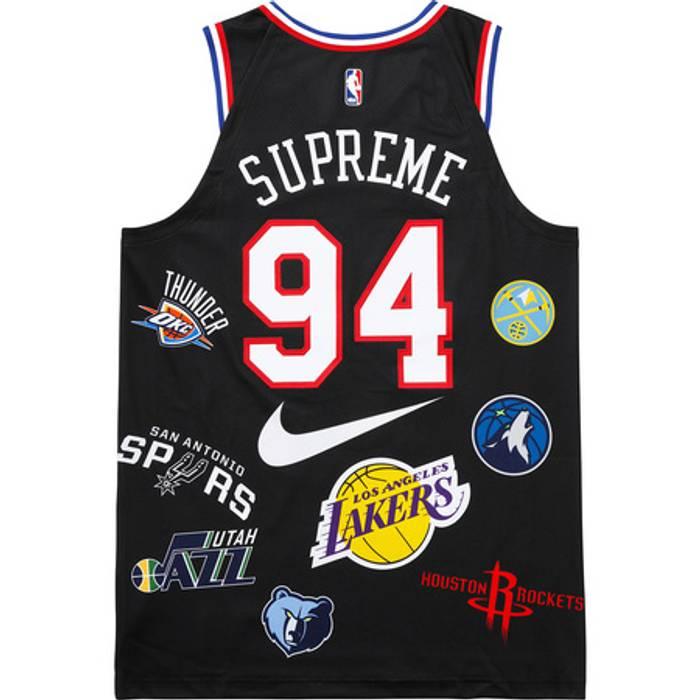 Supreme Supreme x NIKE NBA Authentic Jersey Size m - Jerseys for ... aa7b9b589