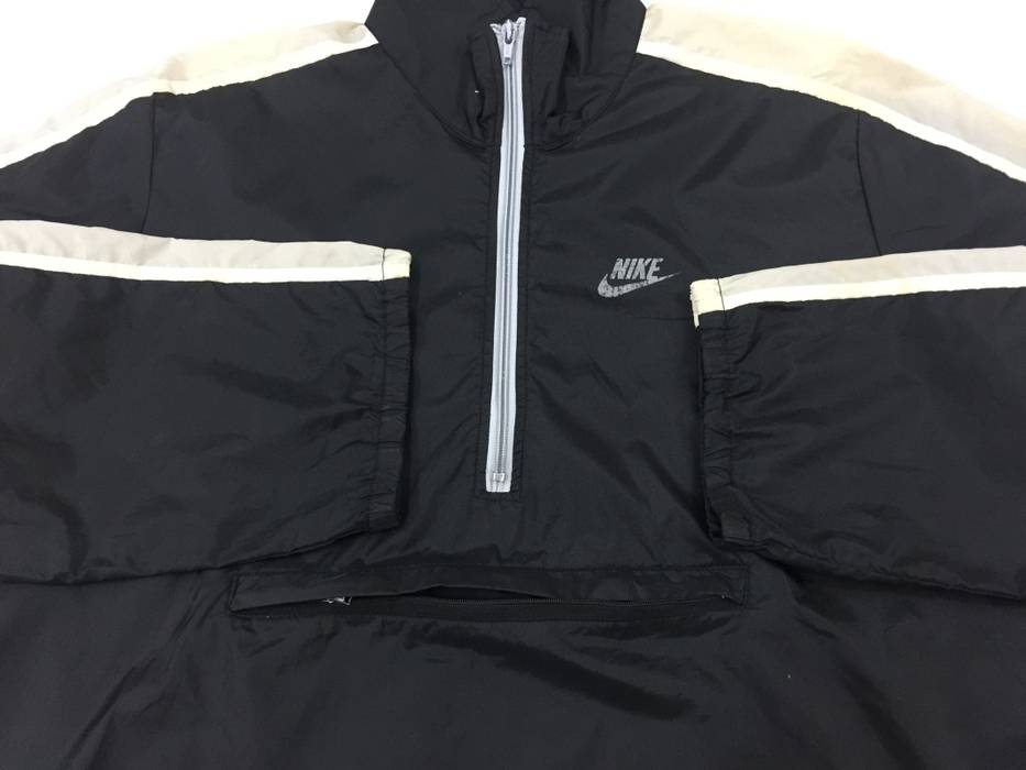 b6d50515b0 Nike Vintage Nike Packable Windbreaker Jacket Black White Size US M   EU 48- 50