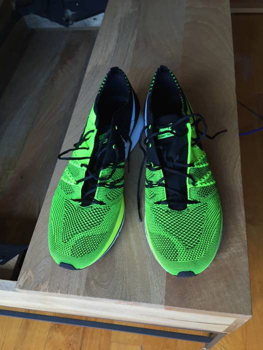 5725053908ea Nike Flyknit Trainer Volt Size 12 - Low-Top Sneakers for Sale - Grailed