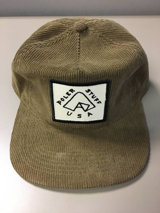 Poler Stuff Floppy Cord Tent Hat - Olive Size one size - Hats for ... 02c1df520d8