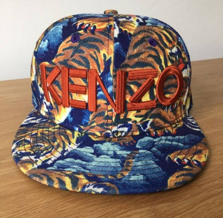 Kenzo KENZO FLYING TIGER CAP Size one size - Hats for Sale - Grailed 87775002834