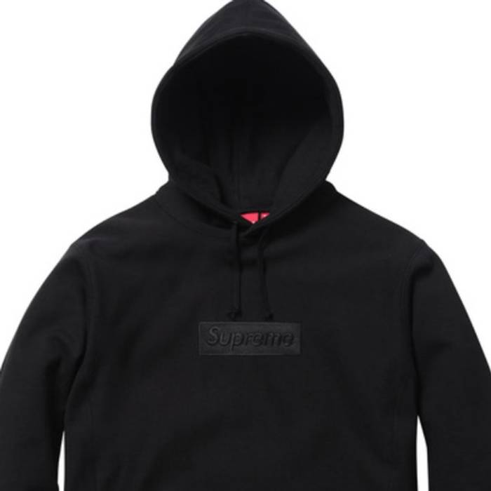 Supreme Black Box Logo Hoodie F W14 Size m - for Sale - Grailed 6bbcfe88aa36
