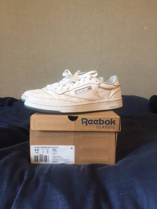 031e3d715a2 Palace Palacr Reebok Club 85 Reflective Size 8.5 - Low-Top Sneakers ...
