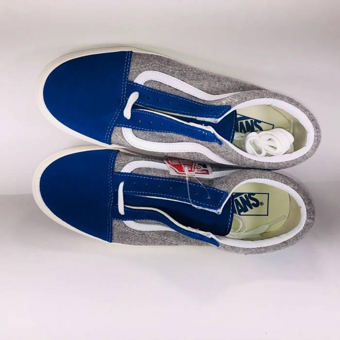 Vans VANS MLB Old Skool Wool Pack Los Angeles Dodgers Classic Blue ... 225d10cae