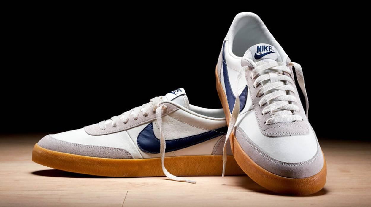 c5d5937a15b3a Nike Nike Killshot 2 J Crew Leather Sail Midnight Navy Size US 12   EU 45
