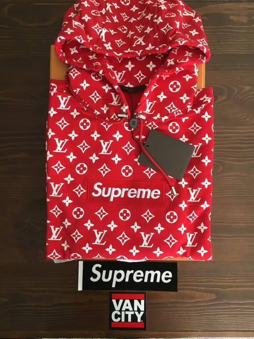 Supreme Supreme Louis Vuitton Size Small Monogram Box Logo Hooded
