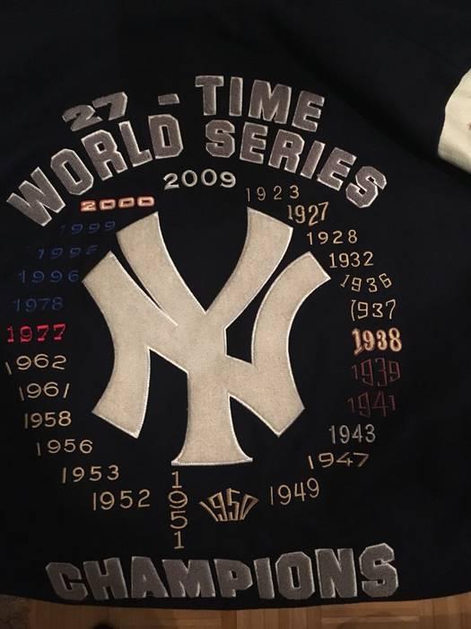 New York Yankees New York Yankees 27th Championship Jacket Size M