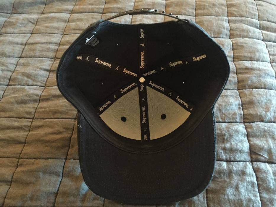 Supreme Supreme X Jordan SnapBack Hat Size one size - Hats for Sale ... c9bd4326b01