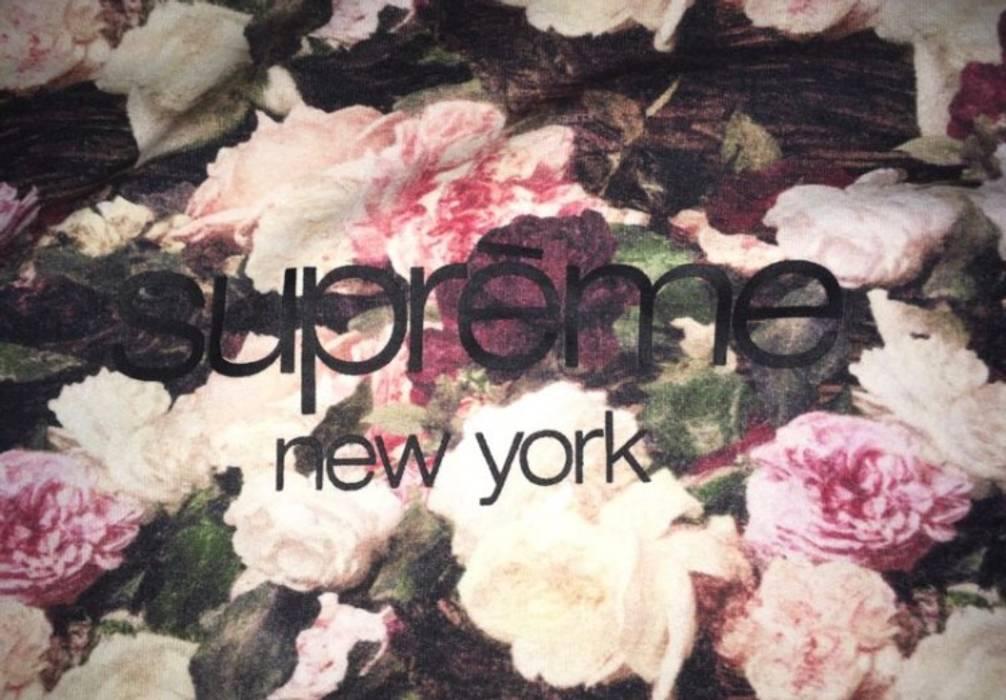 Supreme Supreme Floral Hoodie Size l - Sweatshirts   Hoodies for ... 1ea5bd9db