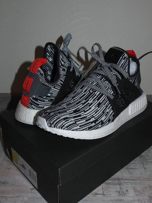 sports shoes 87679 b7b4a Adidas. Adidas Originals NMD XR1 PK White Black Glitch ...