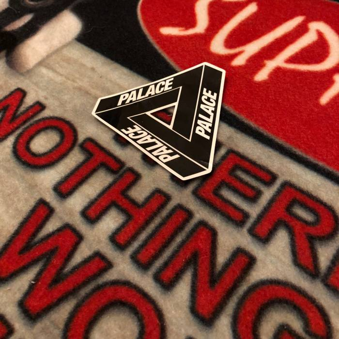 016ce07ce07c Palace Palace Skateboards Sticker Tri-Ferg OS Size one size ...