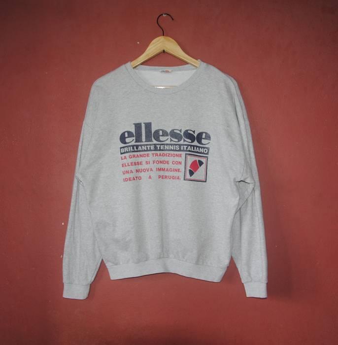 Ellesse Vintage ELLESSE Tennis classic from 1990s sweatshirt size Medium    Casual mod terrace sweater   5f7d35fcfe