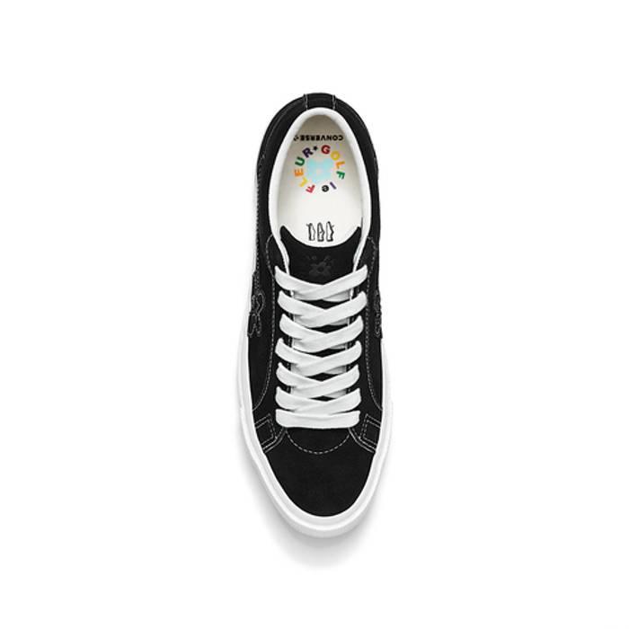 729f047a6b45 Golf Wang Golf Le Fleur Black Monochrome Shoes Size 10.5 - Low-Top ...