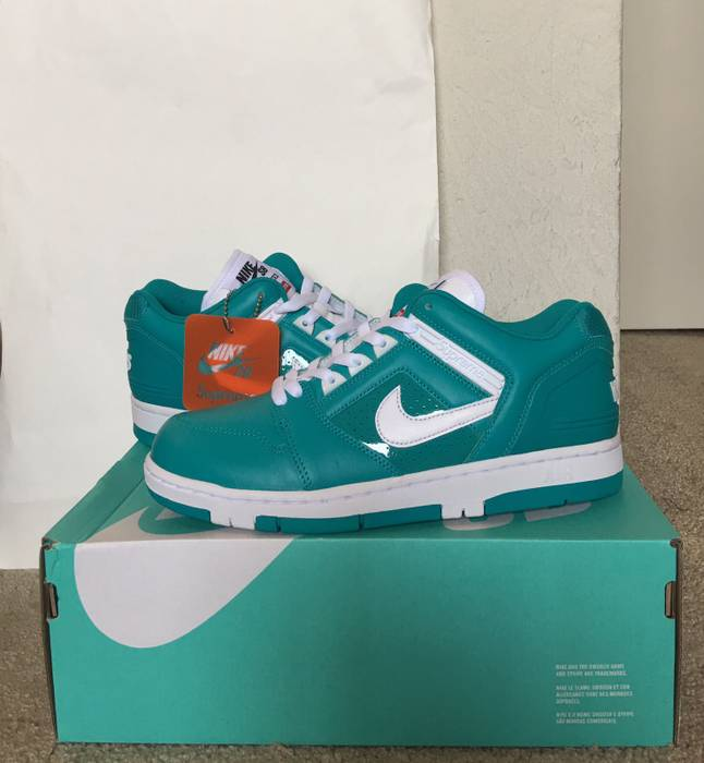 da05e35d18cc Supreme Supreme Nike Sb Air Force 2 Teal  Blue Size 8 - Low-Top ...