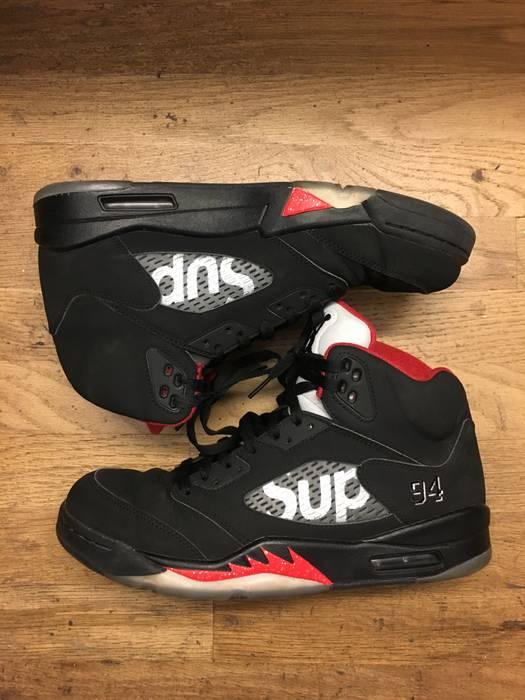 9b53bf0a70a4d9 Jordan Brand Supreme x Air Jordan 5 Retro Size 10 - Hi-Top Sneakers ...