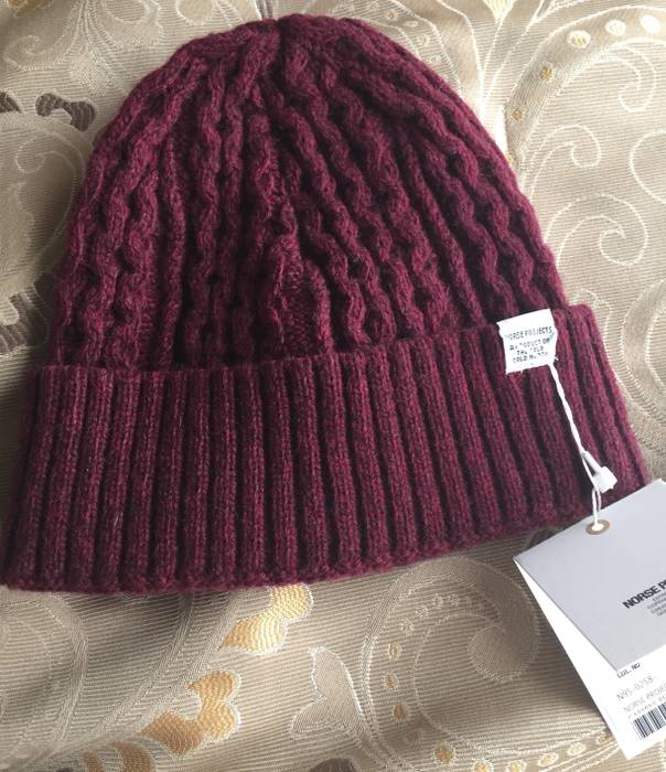 9bb97464ac0 Norse Projects  70 wool cable knit beanie Size one size - Hats for ...