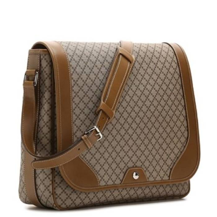 35e4600d435 Gucci Diamante Canvas and Leather Messenger Bag Size one size - Bags ...