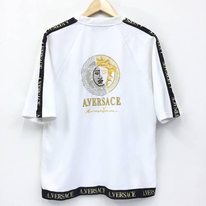 Vintage Vintage A. Versace Shirts With Big Logo Embroidery Design ... 46e1a6f2e