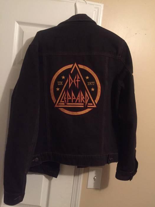 5d329a05e4 Forever 21 Def Leppard Denim Jacket Size m - Denim Jackets for Sale ...