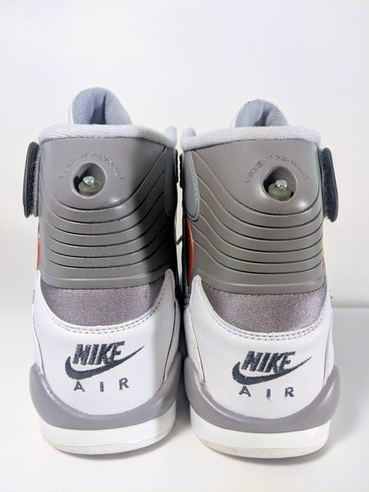 92b77c6d00a6 Nike Air Pressure White Cement Grey Retro 831279-100 Size US 8.5   EU 41