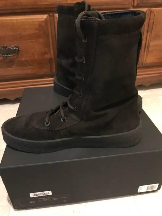 c594911b57b Yeezy Season Yeezy Season 4 Oil Crepe Boots Size 10 - Boots for Sale ...