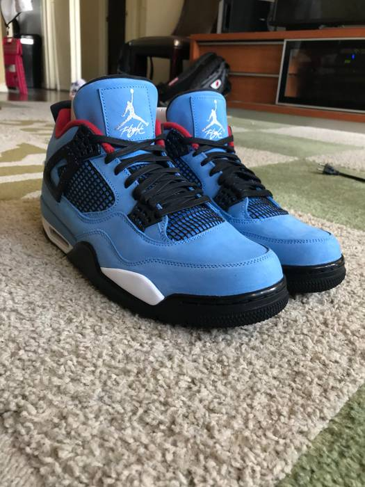 382a7180913d53 ... aliexpress travis scott air jordan 4 cactus jack size us 12 eu 45 2465f  a79f6