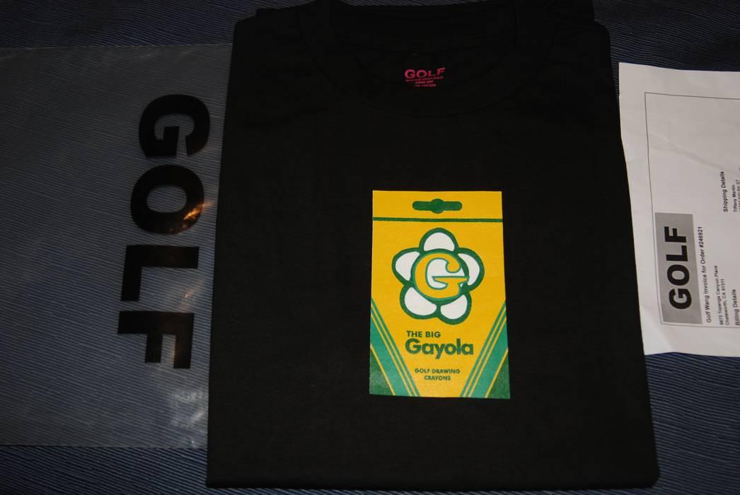 Golf Wang Golf Wang Gayola T Shirt Black Golf Le Fleur Size M