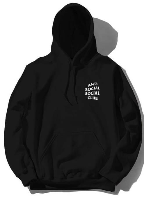 fd1fa1f74a4b Antisocial Social Club Black Assc Mind Games Hoodie Size s ...