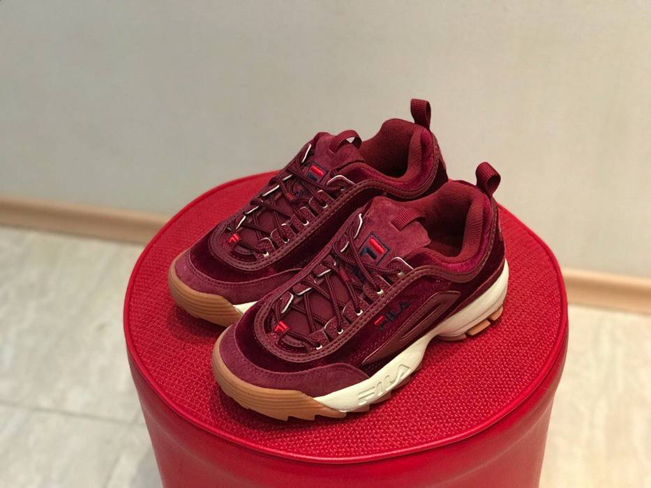 Fila Fila Disruptor V Low WMN Red Velvet Size 5 - Low-Top Sneakers ... 3c0b2526d0