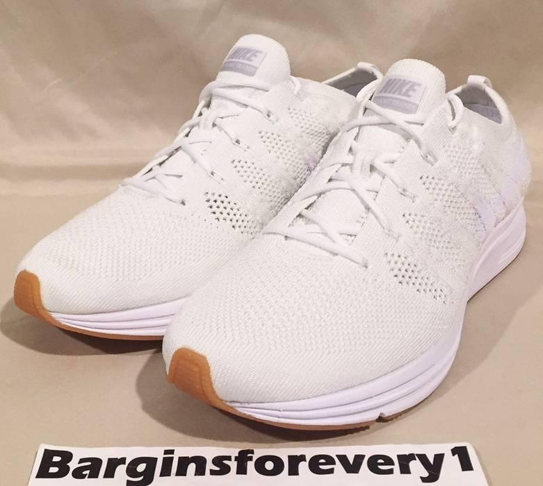 Nike New Nike Flyknit Trainer - Men s Size 9.5 - White White-White ... 22d5dce83