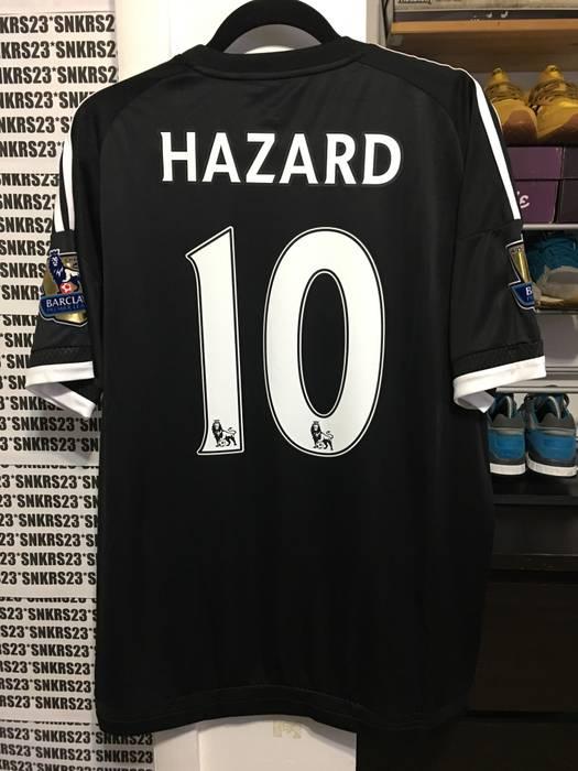 Adidas EDEN HAZARD CHELSEA AWAY FOOTBALL SOCCER SHIRT JERSEY 16-17 (L) Lille c9c634f05