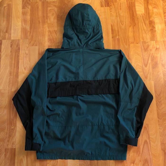 02613e1a90 Vintage VTG 90s Nike ACG All Conditions Gear Hooded Windbreaker Parka Jacket  Green Black Rare Size