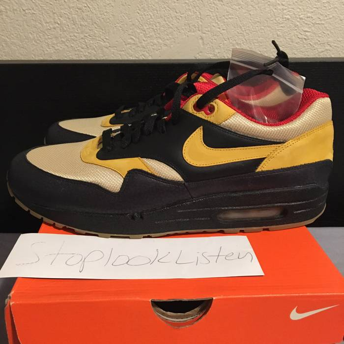d00dcf3653d9 Nike NIKE AIR MAX 1 SUPREME SAFARI TECH PACK 2 SPIDER SIZE 10.5 DS Size US