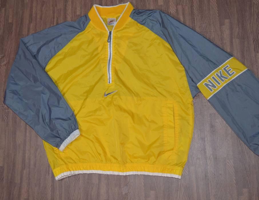 e03b352844 Nike Vintage Nike Windbreaker jacket in Yellow (White Tag) Size US S   EU