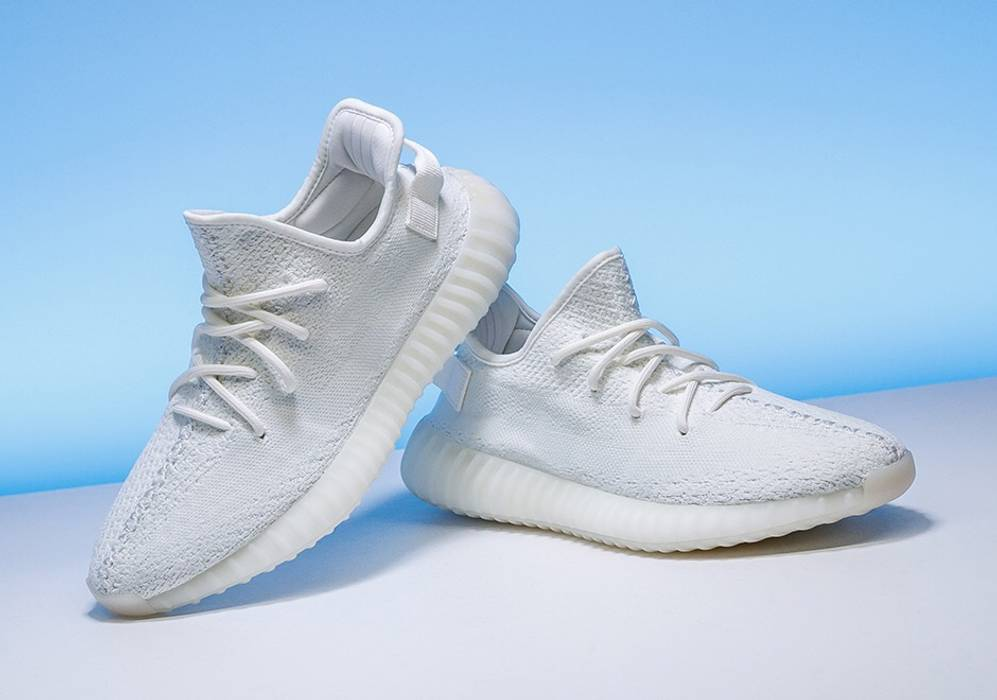 2a2c775b48d Adidas Kanye West Adidas Yeezy Boost 350 V2 Cream White Size 11 ...